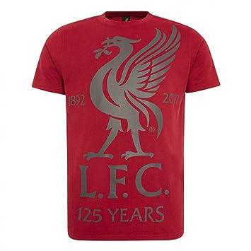 FC Liverpool liverbird Vintage – Camiseta, rojo, xx-large
