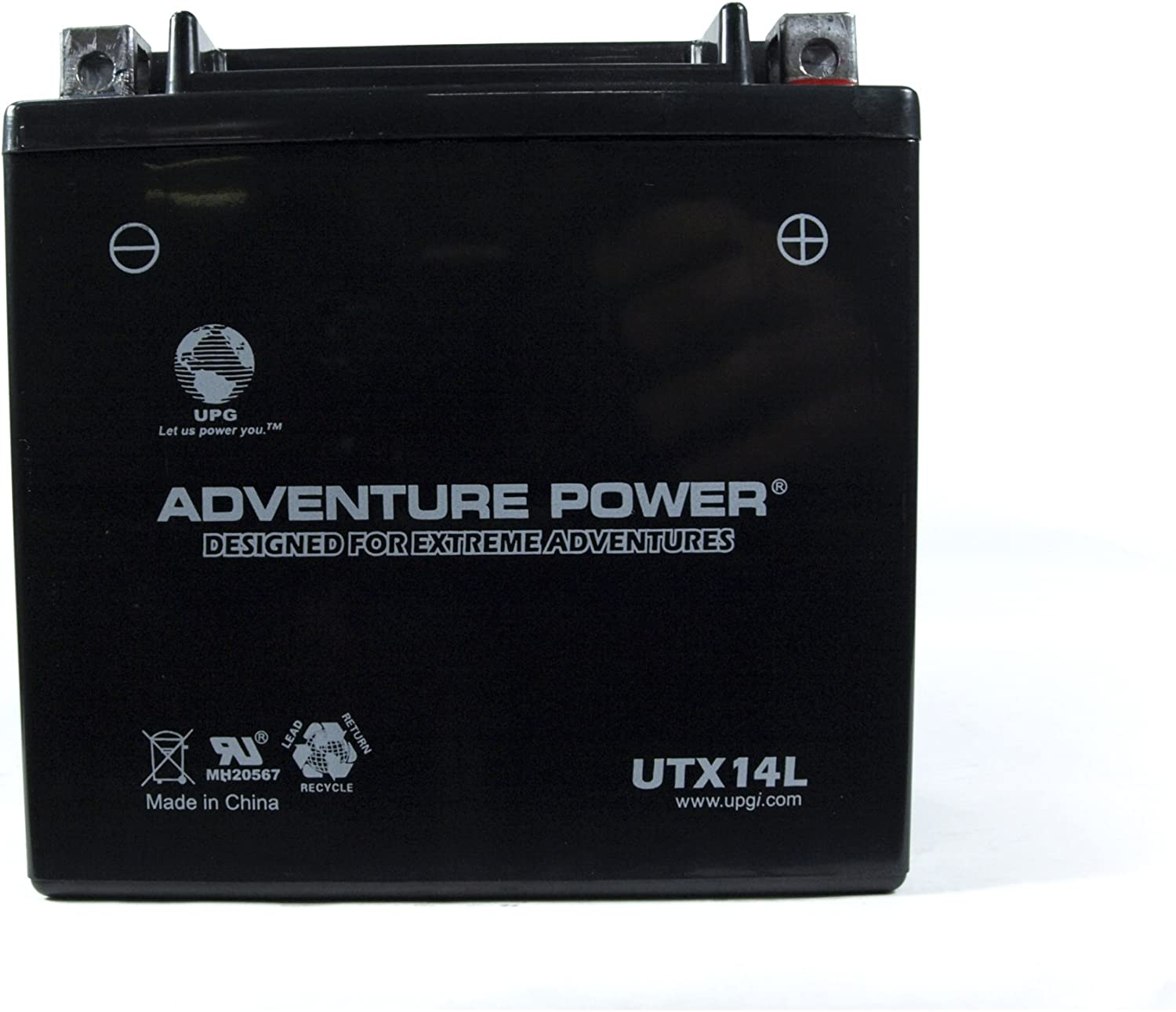 UPG 12V 7AH Replcement Battery for Piranha MAX 160 Fish Finder WITH CHARGER
