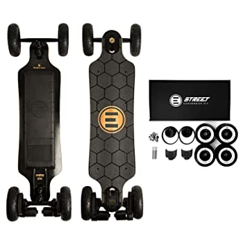 Evolve Skateboards – Bamboo GTX Series Electric Skateboard (26 MPH Top Speed / 31 Mile Range) – Street, All-Terrain, 2in1 Models