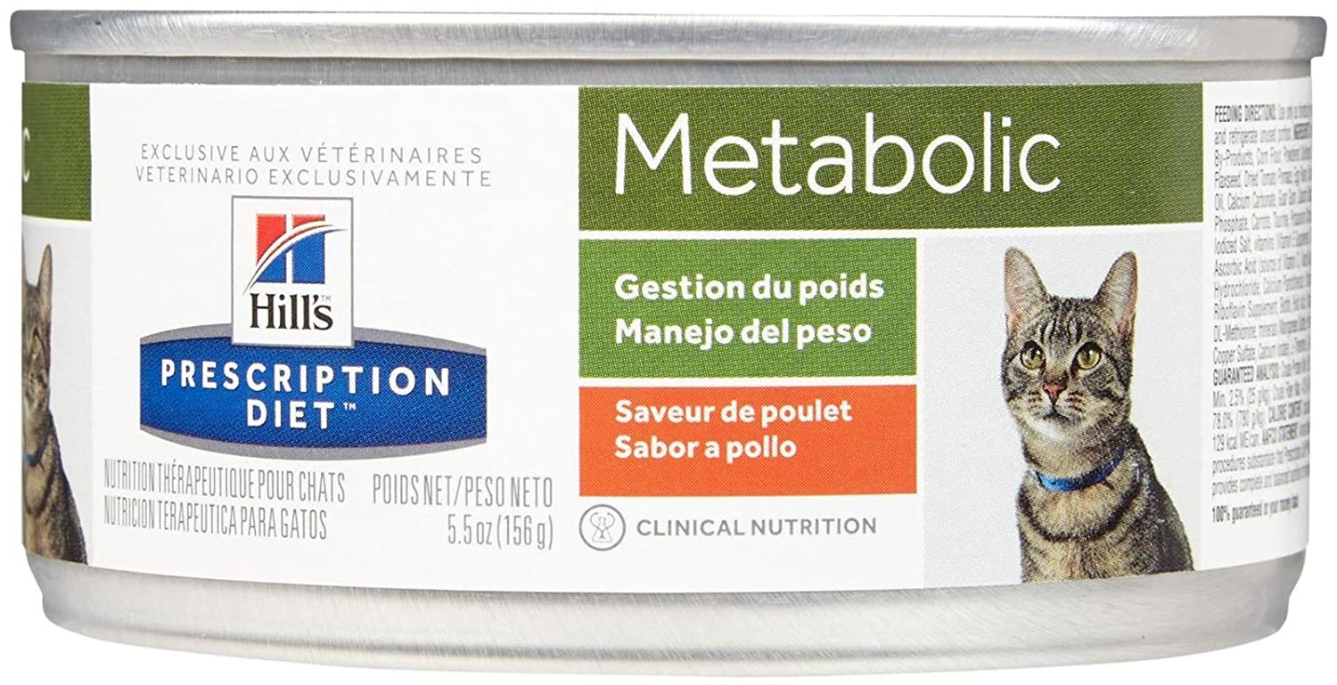 Amazon.com : Hills Prescription Diet Metabolic Feline - 24x5.5oz : Pet Supplies