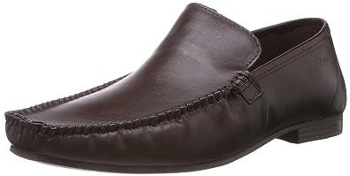 Buy Redtape Men's Brown Leather Formals