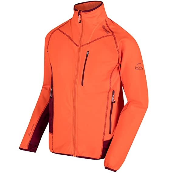 737cf646aaca Regatta Mens Diego III Softshell Walking Jacket (4XL) (Magma Spiced Mulberry)   Amazon.co.uk  Clothing