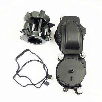 Cárter De Ventilación Turbo Filtro de aceite nuevo 11127799225 para E46 E90 E60 X3 525d 530d