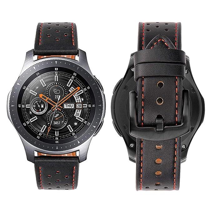 iBazal Gear S3 - Correa de Reloj de 22 mm para Samsung Gear ...