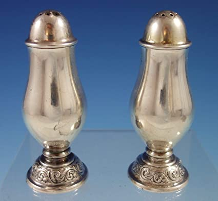 Amazoncom Old Master By Towle Sterling Silver Salt And Pepper