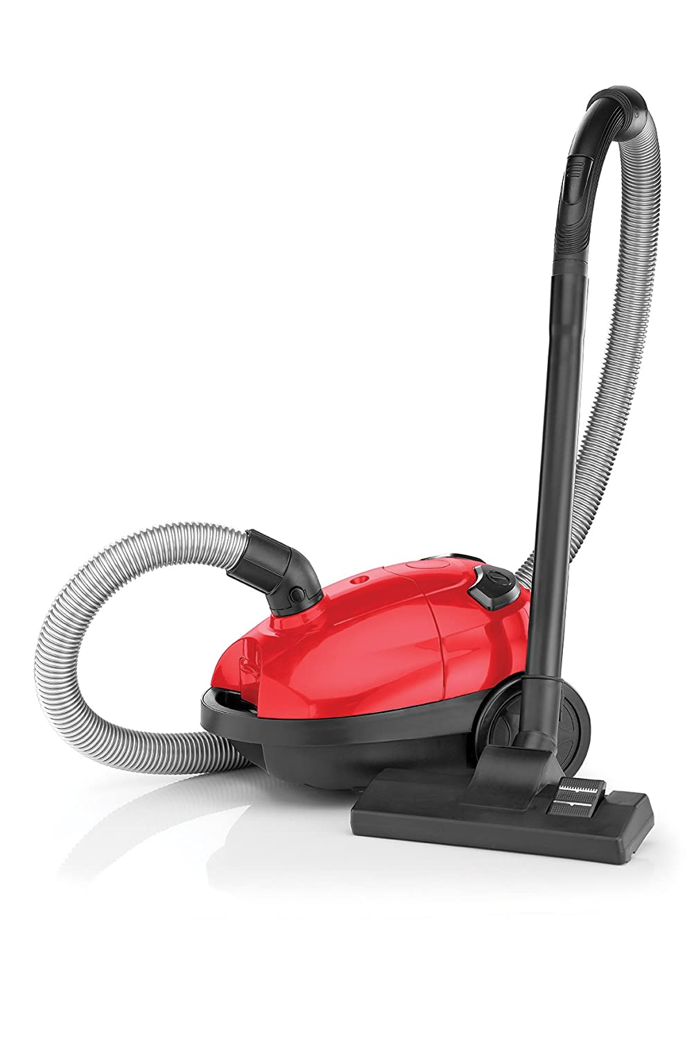 BLACK+DECKER VM1200-B5 1000-Watt,100 Air Watts High Suction, 1-Litre Bagged Vacuum Cleaner (Red)