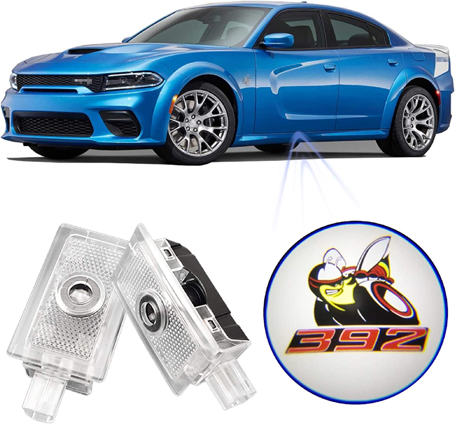 amazon com wilnara car door dodge charger led logo projector ghost shadow courtesy step lamp puddle light for charger 392 scat pack no1 automotive wilnara car door dodge charger led logo projector ghost shadow courtesy step lamp puddle light for charger 392 scat pack no1