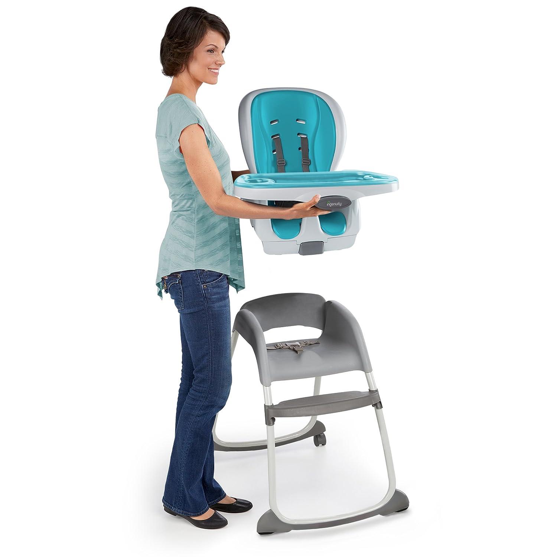 Ingenuity Trio Smart Clean High Chair Aqua 3 in 1 Amazon