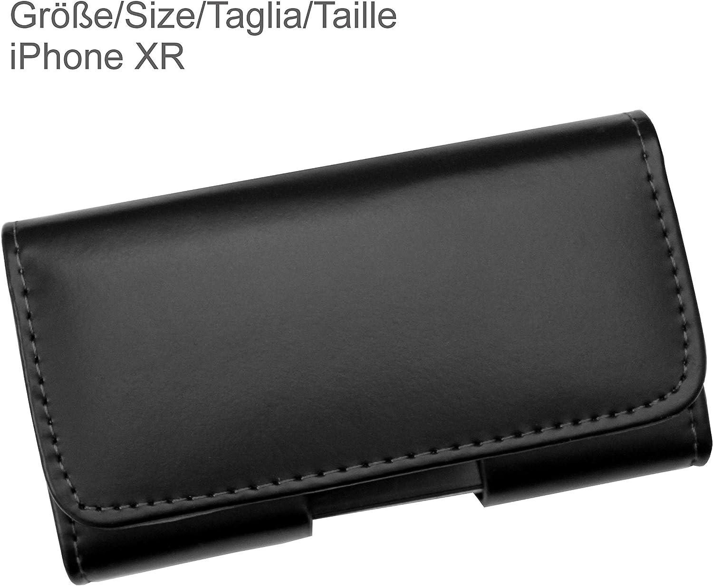 AQ Mobile G/ürteltasche f/ür Samsung Galaxy M30s aus Leder mit Magnetverschluss und G/ürtelclip Nicht geeignet f/ür Telefon mit Bumper oder zus/ätzlicher H/ülle