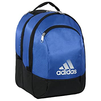 blue adidas backpack