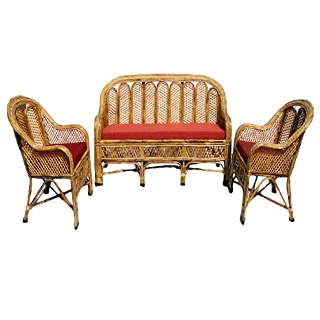 Astonishing Cane Sofa Set With Table Amazon In Home Kitchen Spiritservingveterans Wood Chair Design Ideas Spiritservingveteransorg