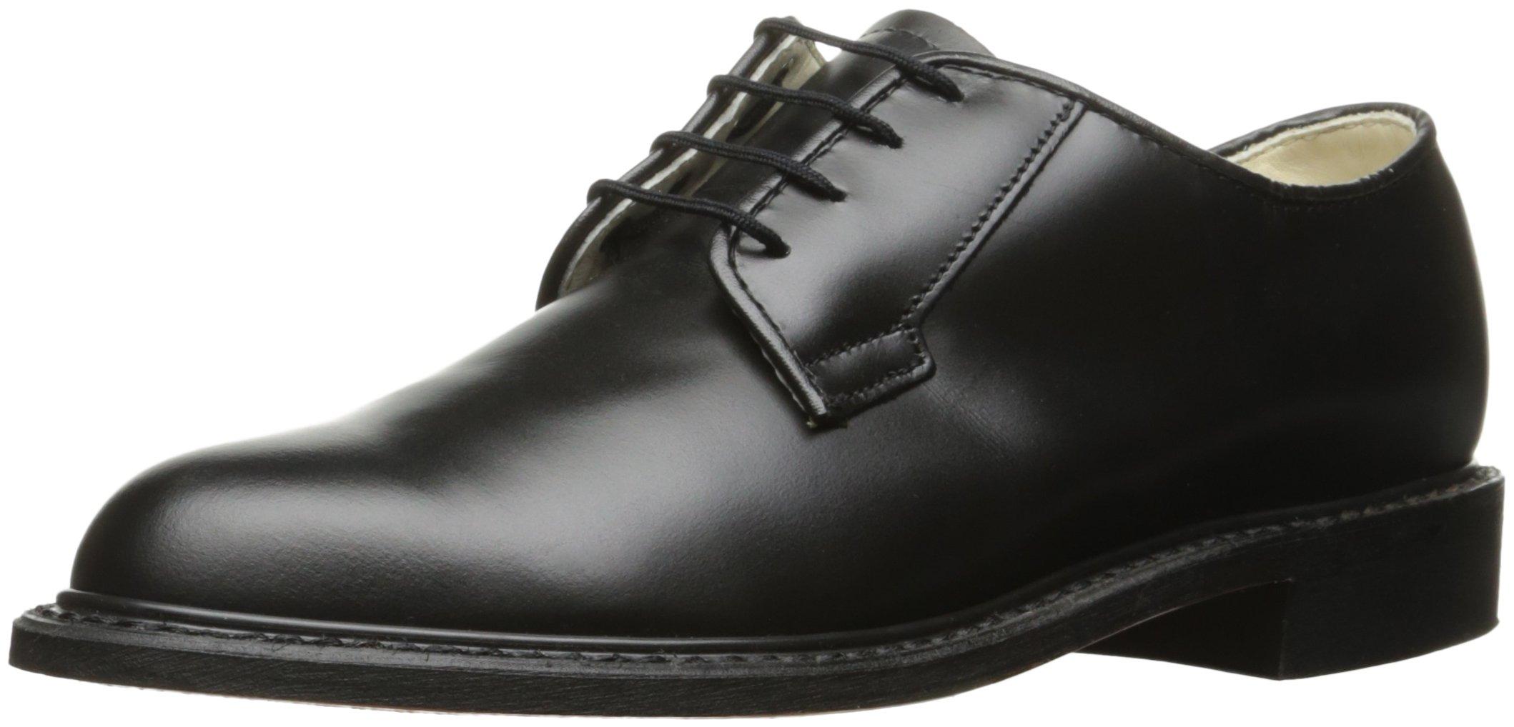 Bates Women's Navy Premier Oxford Uniform Dress Shoe, Black, 11 M US