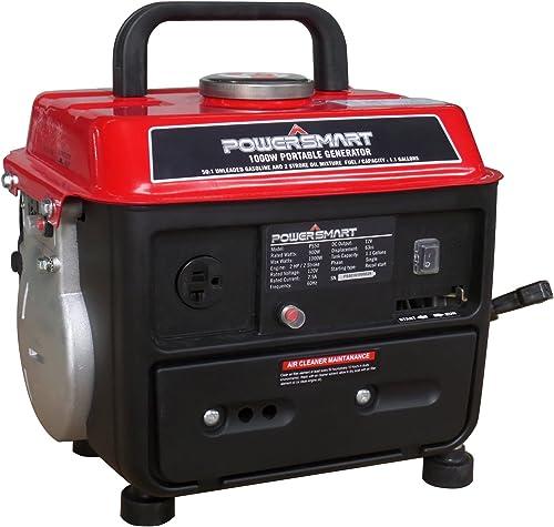 PowerSmart PS50 Portable Generator, Red Black