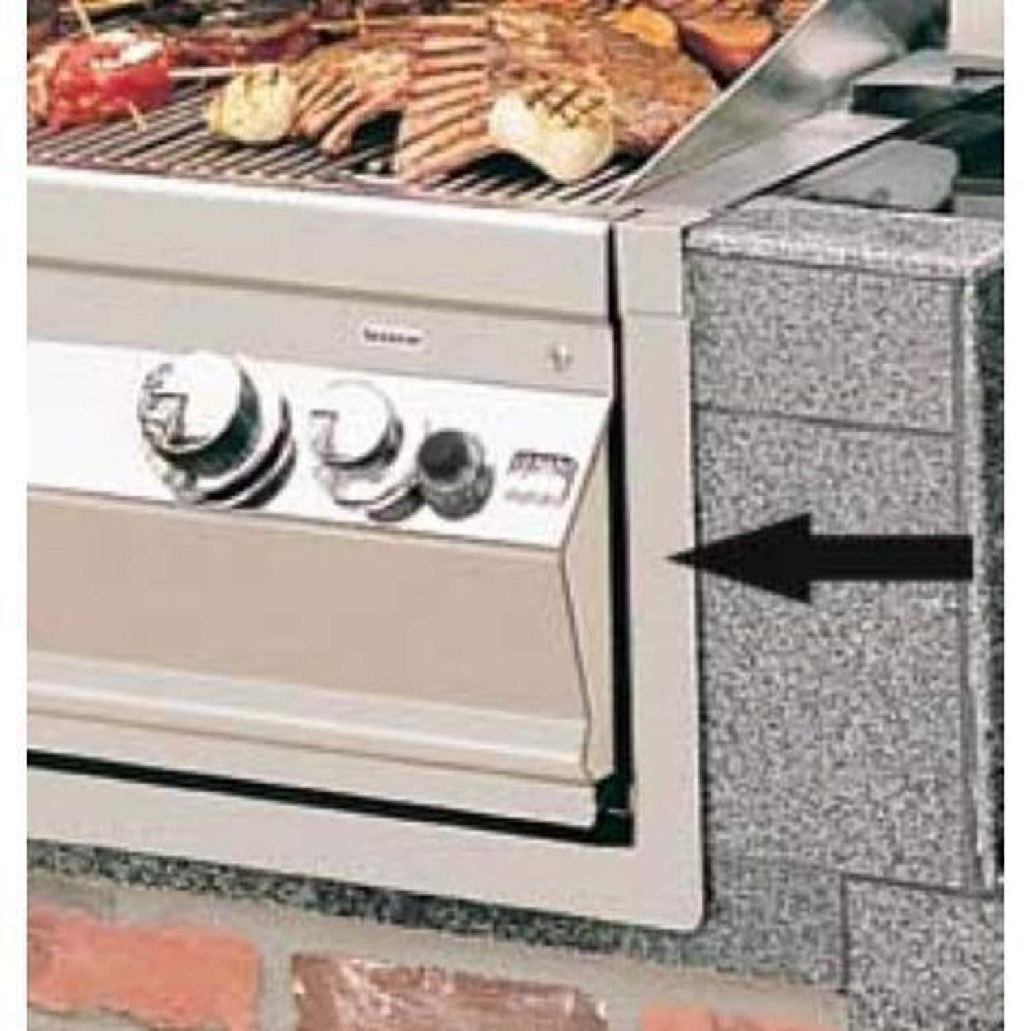 Fire Magic Trim Kit For Right Hinged Refrigerator 3809ar