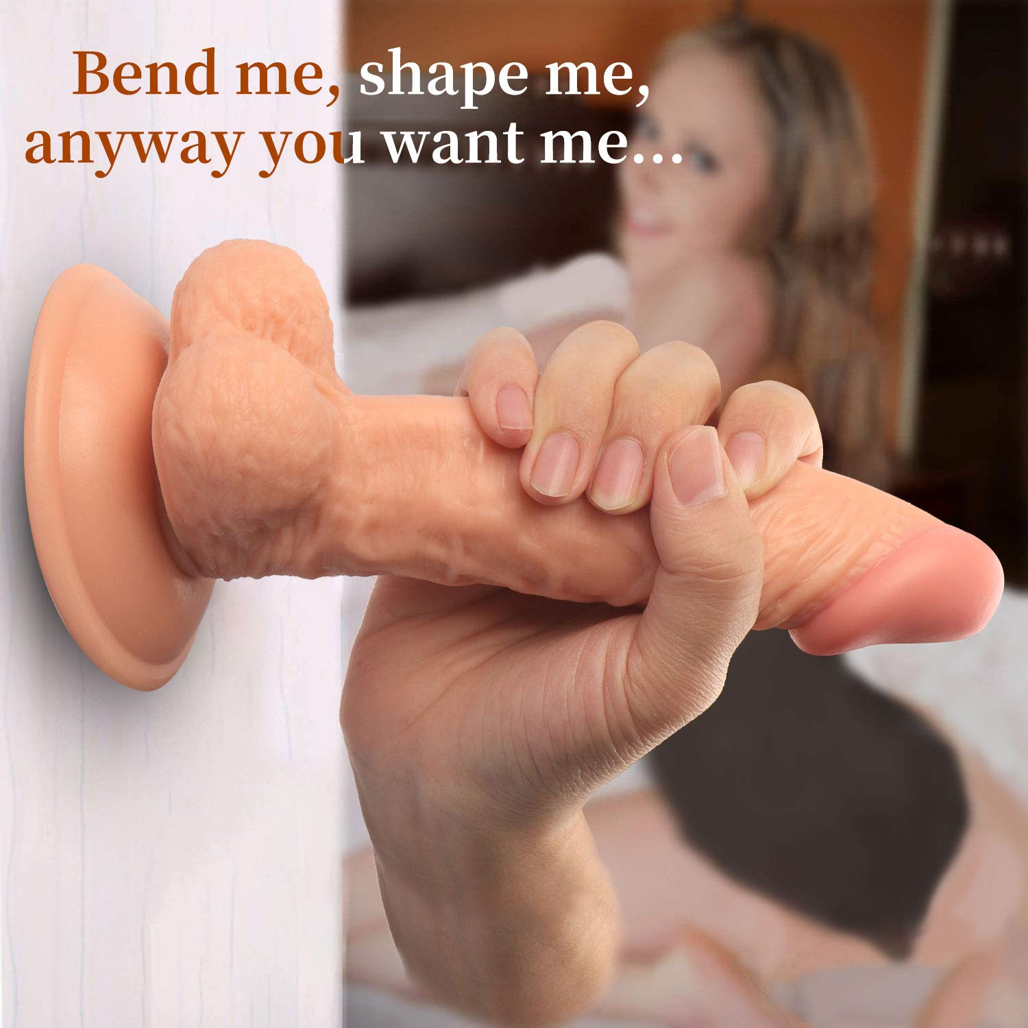 7.8 Inches Sili-cone Material Female lifelike Toy Used in Everywhere You Wanted