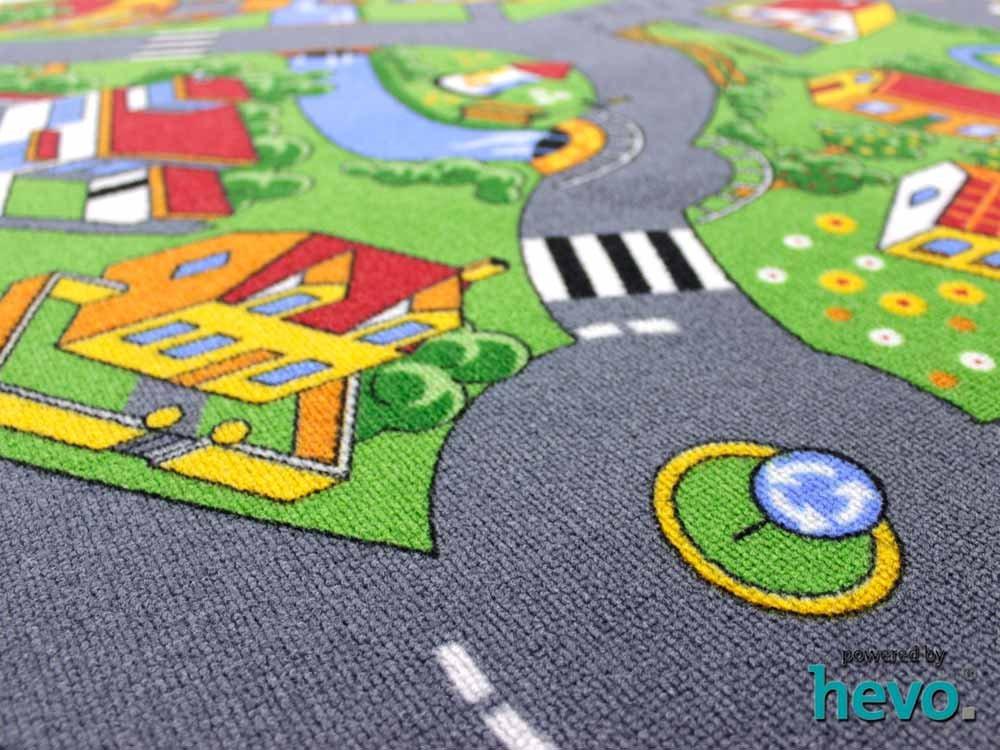 Stadt Land Fluss Fluss Fluss HEVO® Teppich   Kinderteppich   Spielteppich 200x250 cm B005P65VI0 Teppiche f2e789