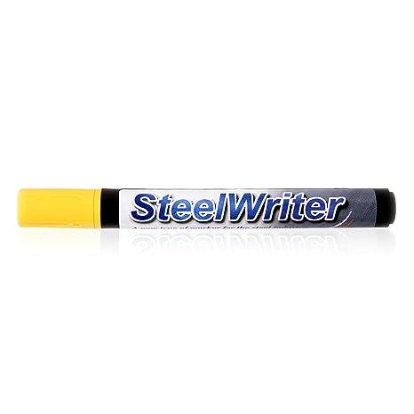 Amazon.com: SteelWriter marcador – amarillo 5 mm. Para ...