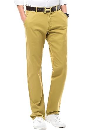 a2a834ada55 FLY HAWK Mens Casual Pants 100% Cotton Work Pants Khaki Pants Size 30 x 30