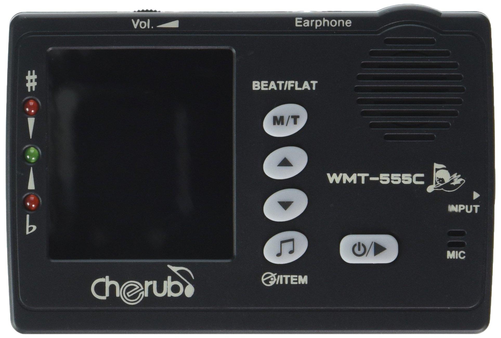 Cherub WMT-555C Tuner-Metronome Combo