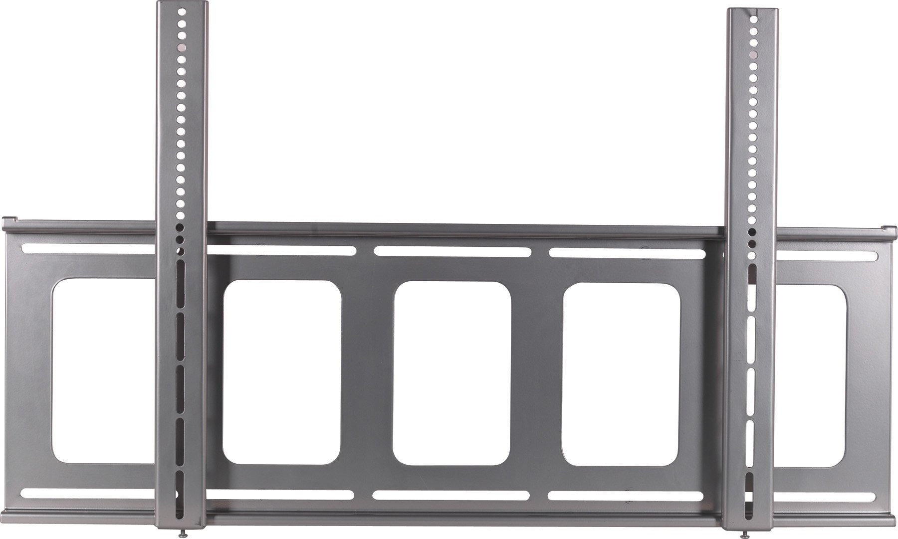 VMP FP-LF Universal Large Flat Panel Flush Mount for 42 to 63-Inch Displays (Silver)