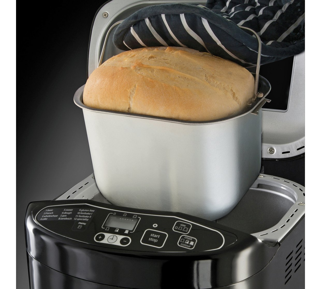 Russell Hobbs Fast Bake 2.2 lb Breadmaker 220 VOLTS OVERSEAS USE ONLY
