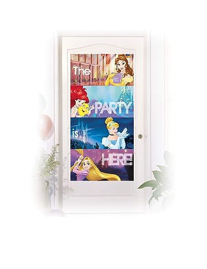 COOLMP - Juego de 6 Adornos para Puerta de Princesas Disney ...