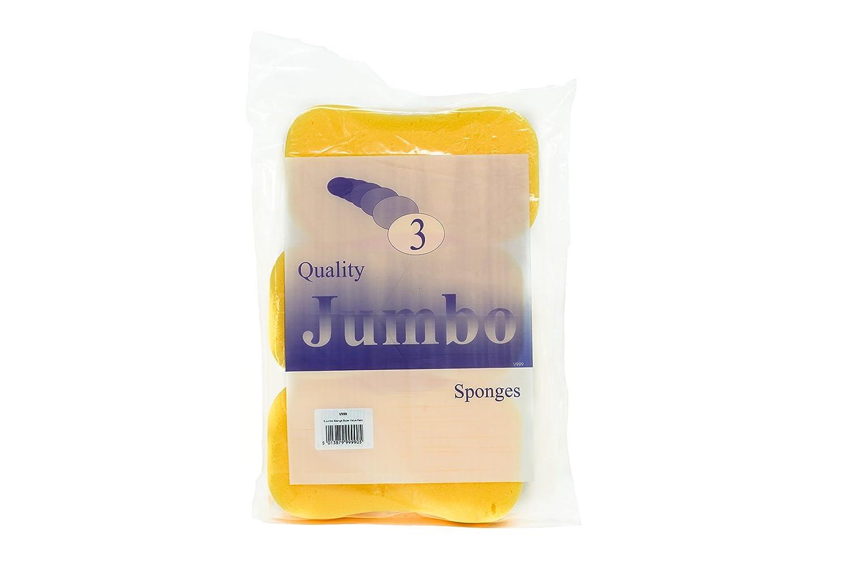 Kent Car Care GKEV999 Super Value Jumbo Sponges - Set of 3 Kent Chamois Company Limited