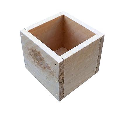 Amazon.com: Centro de mesa rústico para bodas, madera de ...