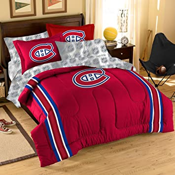 Montreal Canadiens NHL Bed In A Bag Full