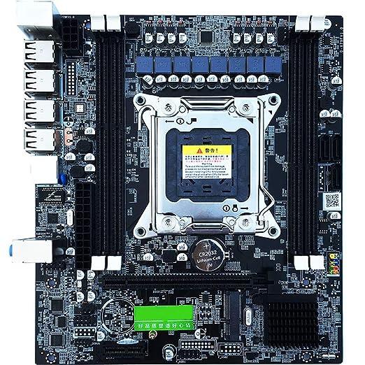 kongnijiwa X79 E5 Escritorio Placa Madre del Ordenador USB 2.0 ...