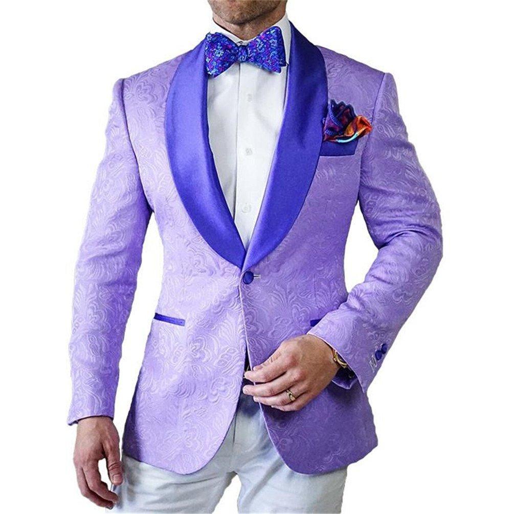 GEORGE chaqueta de traje de hombre formal partido smoking chal ...