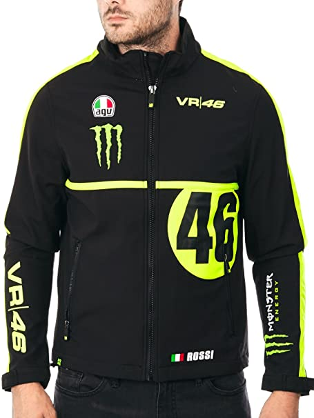 sale retailer 62807 a693a Giacca Valentino Rossi VR46 Nero: Amazon.it: Auto e Moto