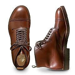 6-in Cap Toe Boot Alpine Grain: Brown