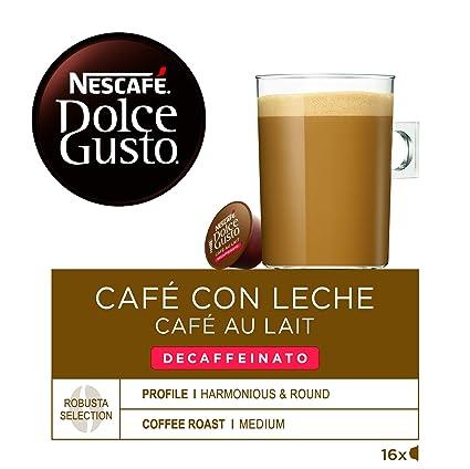 Nescafé Dolce Gusto Café con leche descafeinado - 16 ...