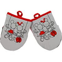 Disney Kitchen Neoprene Mini Oven Mitts, 2pk-Heat Resistant Oven Gloves with Insulation Ideal for Handling Hot…