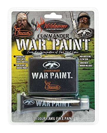 Amazon.com : Wildgame Innovations Commander War Face Paint ...