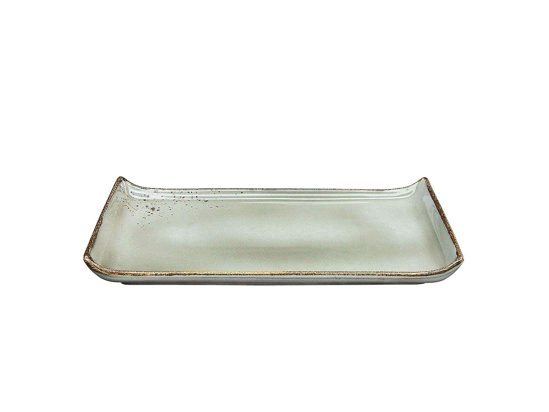 Stone 22080 Creatable BBQ Platte 33 x 16,5 cm Nature Collection Steinzeug