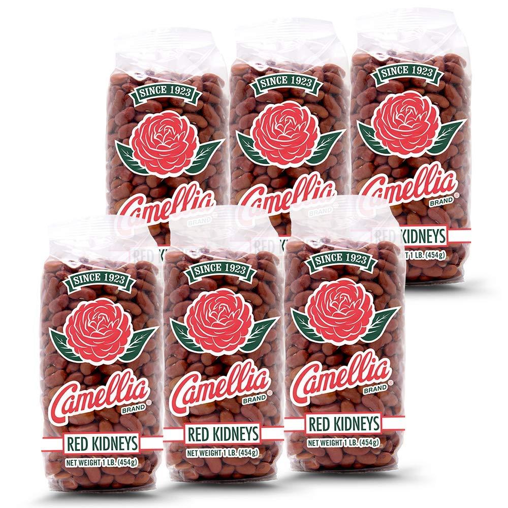 Camellia Brand Dry Red Kidney Beans 1lb (6pk)