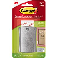Command 17048-ES Large Sticky Nail Wire Backed Metal 1 Hanger