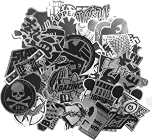 DreamerGO Cool Graffiti Stickers 55 Pieces Various Car Motorcycle Bicycle Skateboard Laptop Luggage Vinyl Sticker Graffiti Laptop Luggage Decals Bumper Stickers