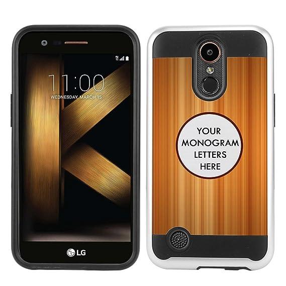 size 40 2833c de0de Amazon.com: FINCIBO Custom Case Compatible with LG K20 Plus ...