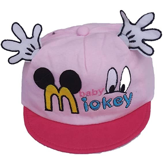 f4c132f64a5 Vbirds Baby Girl s Soft Mickey Mouse Pink  Amazon.in  Clothing   Accessories