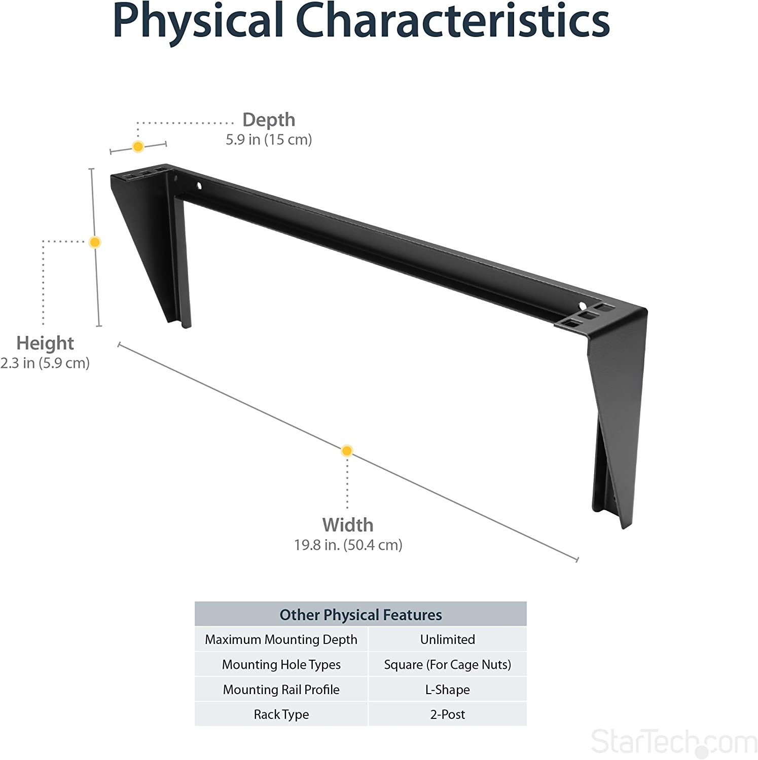 """Handrail bracket 3//16/"""" thickness with a projection from wall to cent center"""