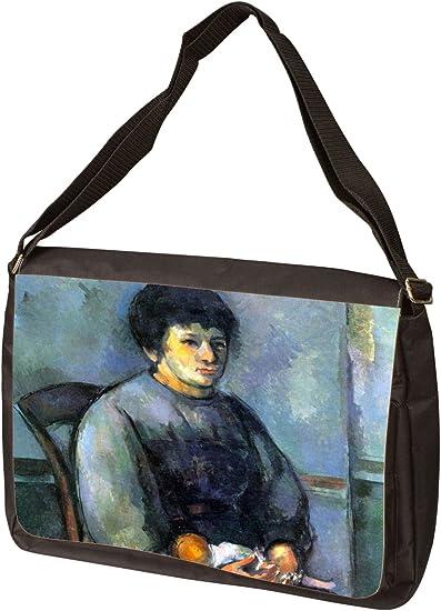 Messenger Bag Shoulder Bag Painter at Work by Paul Cezanne Laptop Bag