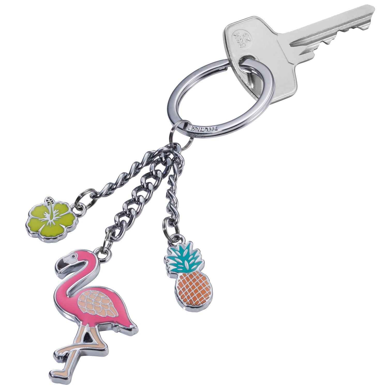 Troika Flamingo Porte-cl/és Mehrfarbig Multicolore 13 cm