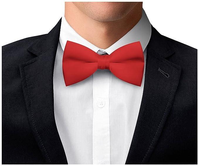 OM3 - Pajarita - para hombre Rojo rojo Talla única azUW9L