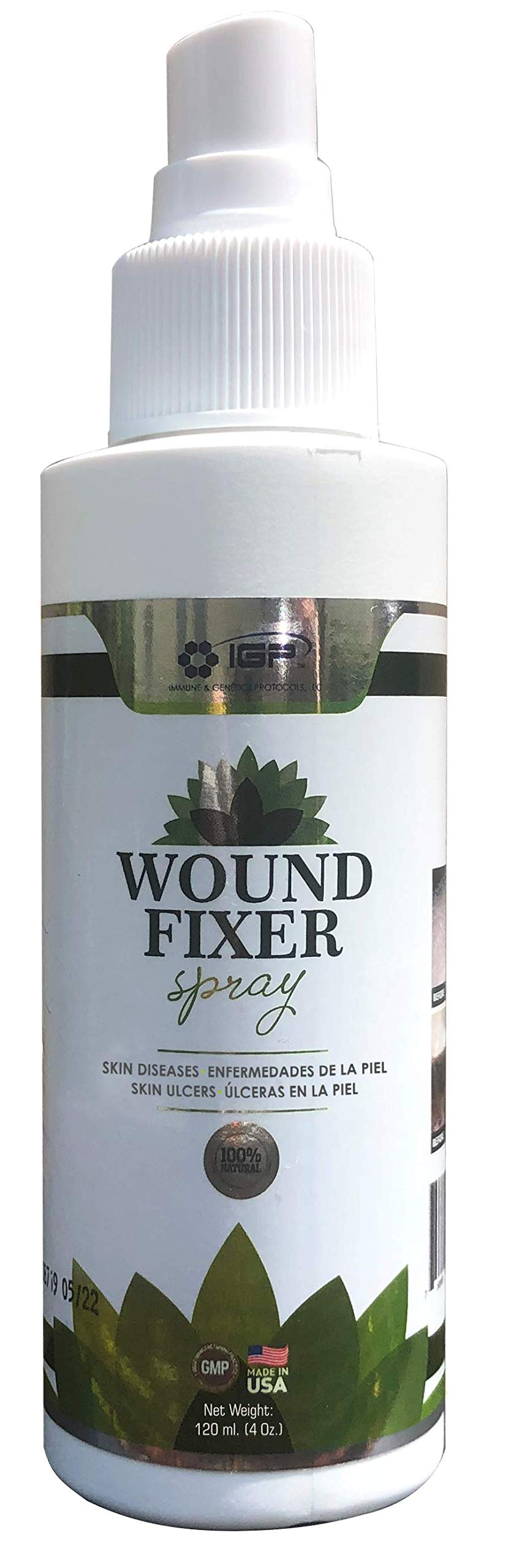 Wound Fixer. Skin Diseases, Skin Ulcers. Wounds can heal. 4oz by Wound Fixer