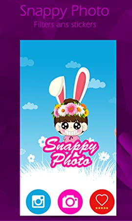 Snappy Photo Filter And Stickers