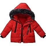 Foyeria Outdoor Down Jacket Coat Winter For Baby Boys Girls Warm Puffer Windproof Winter Coat