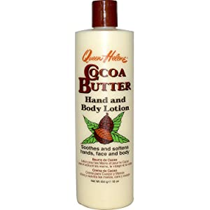 QUEEN HELENE Cocoa Butter Hand & Body Lotion 16 oz (Pack of 2)